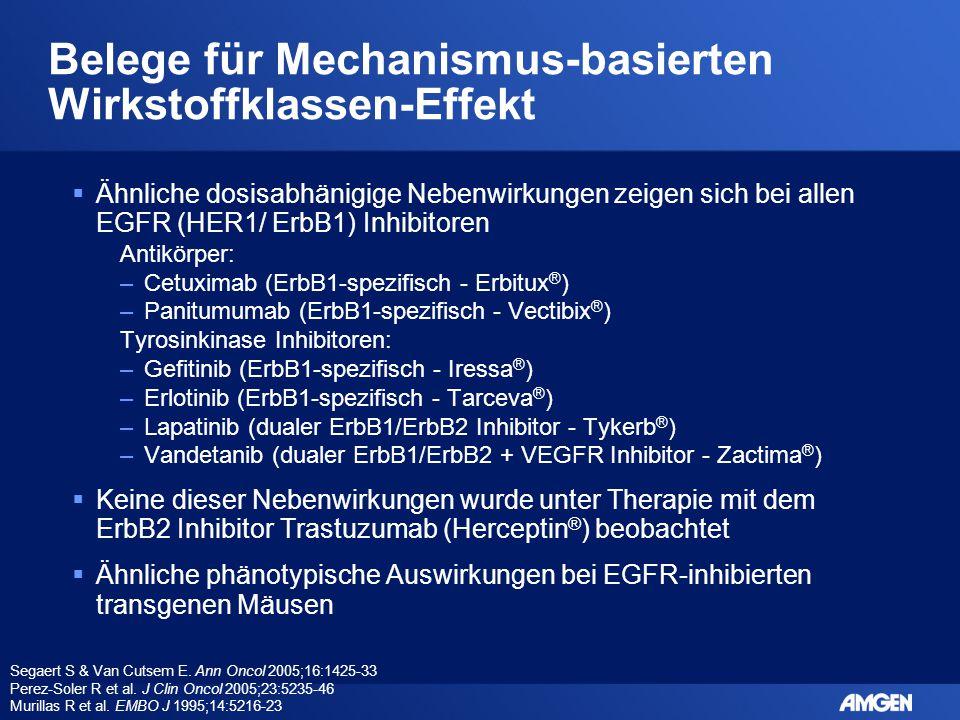 Belege für Mechanismus-basierten Wirkstoffklassen-Effekt