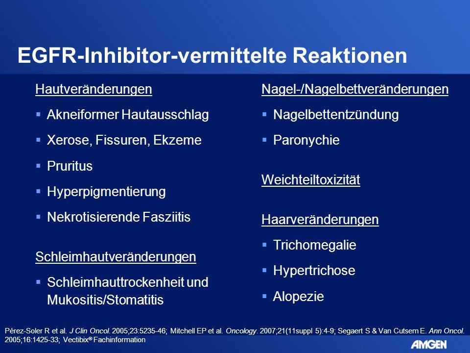 EGFR-Inhibitor-vermittelte Reaktionen