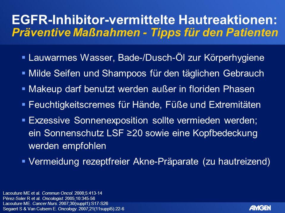 EGFR-Inhibitor-vermittelte Hautreaktionen: Präventive Maßnahmen - Tipps für den Patienten