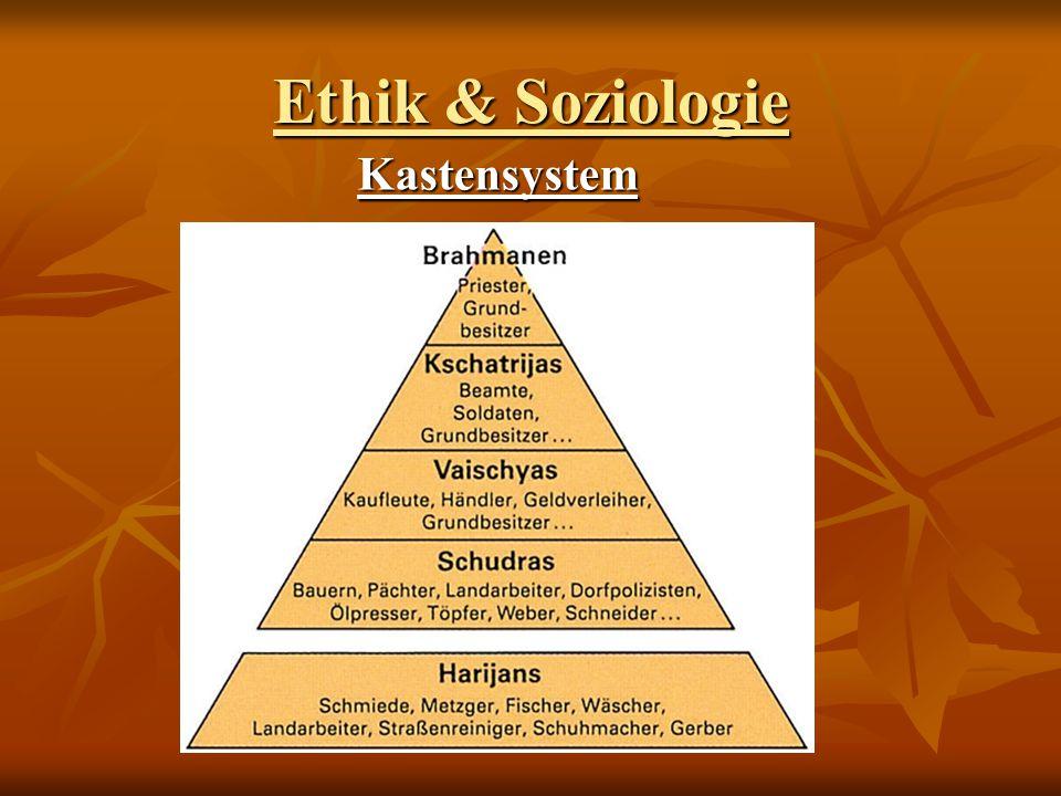 Ethik & Soziologie Kastensystem