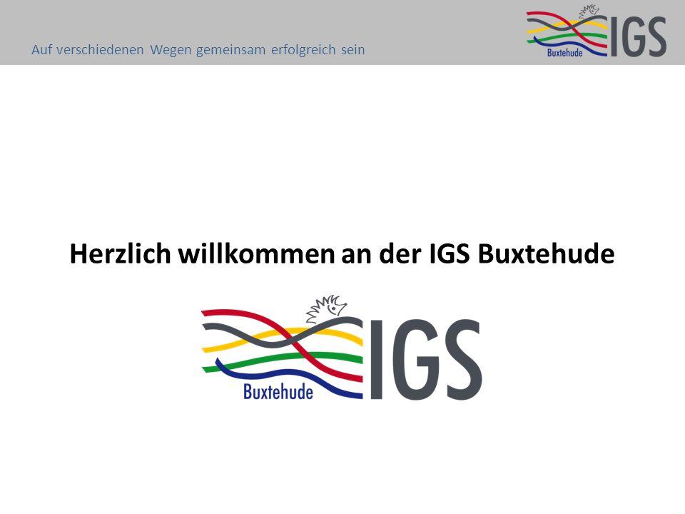 Herzlich willkommen an der IGS Buxtehude