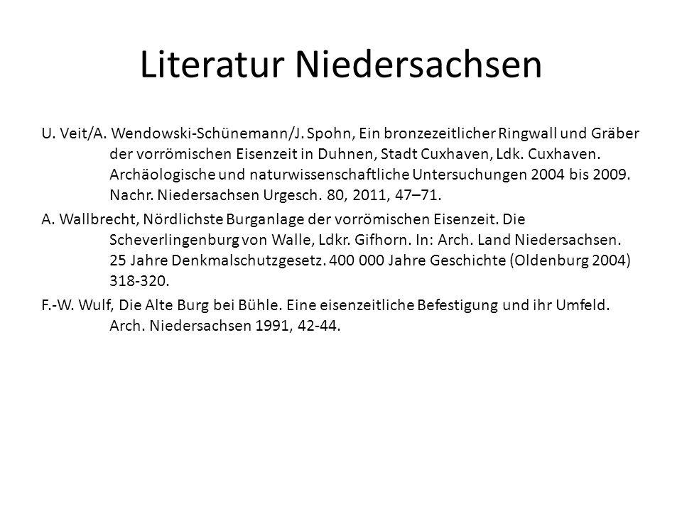 Literatur Niedersachsen