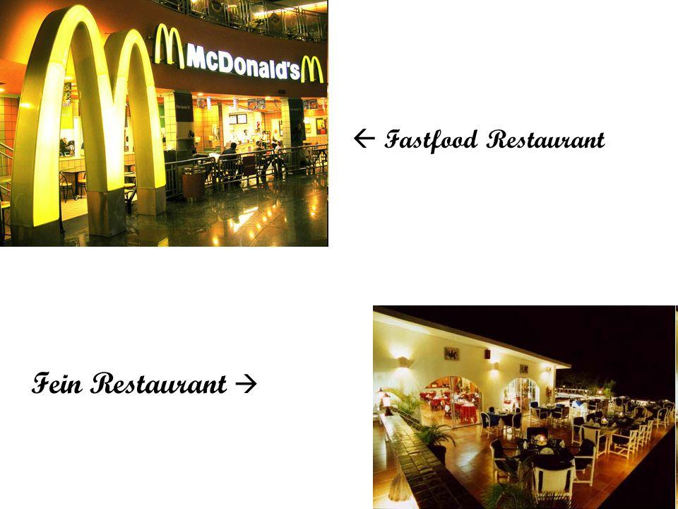 Fastfood Restaurant Fein Restaurant 