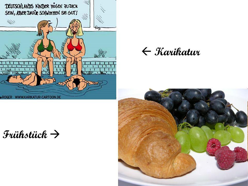  Karikatur Frühstück 