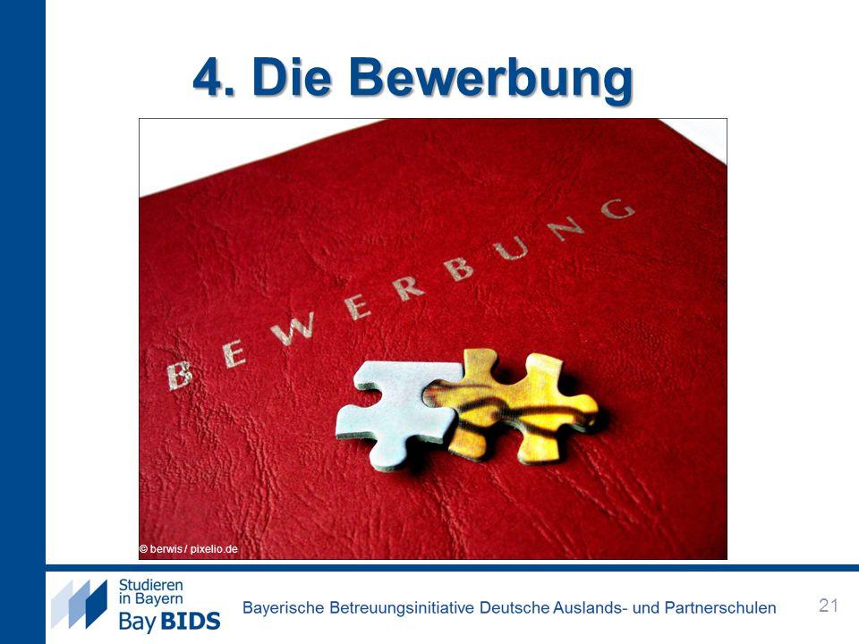 4. Die Bewerbung © berwis / pixelio.de © Rainer Sturm / pixelio.de