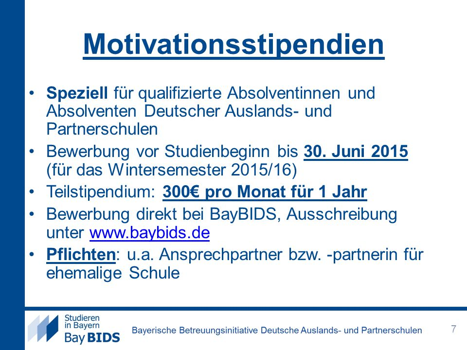 Motivationsstipendien