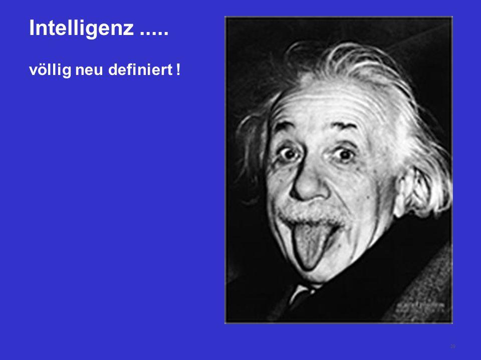 Intelligenz ..... völlig neu definiert !
