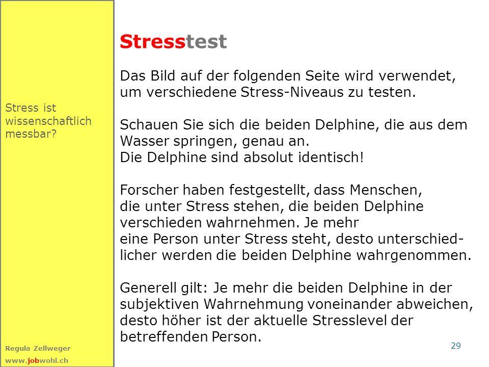 Stresstest Das Bild auf der folgenden Seite wird verwendet,