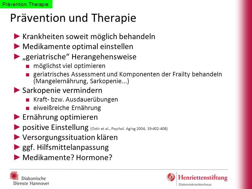 Prävention und Therapie