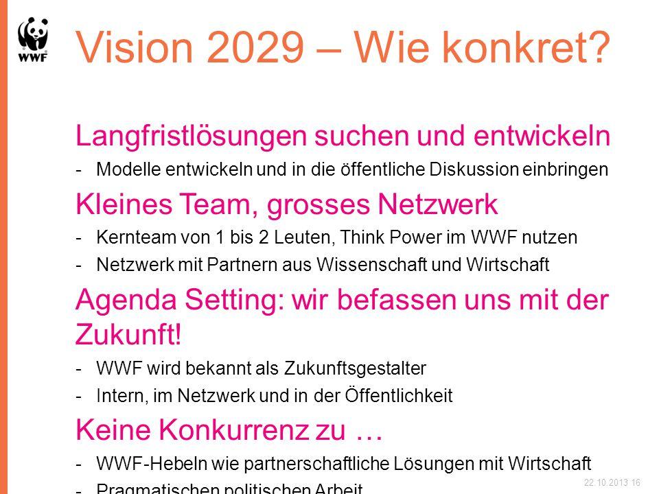 Vision 2029 – Wie konkret Langfristlösungen suchen und entwickeln