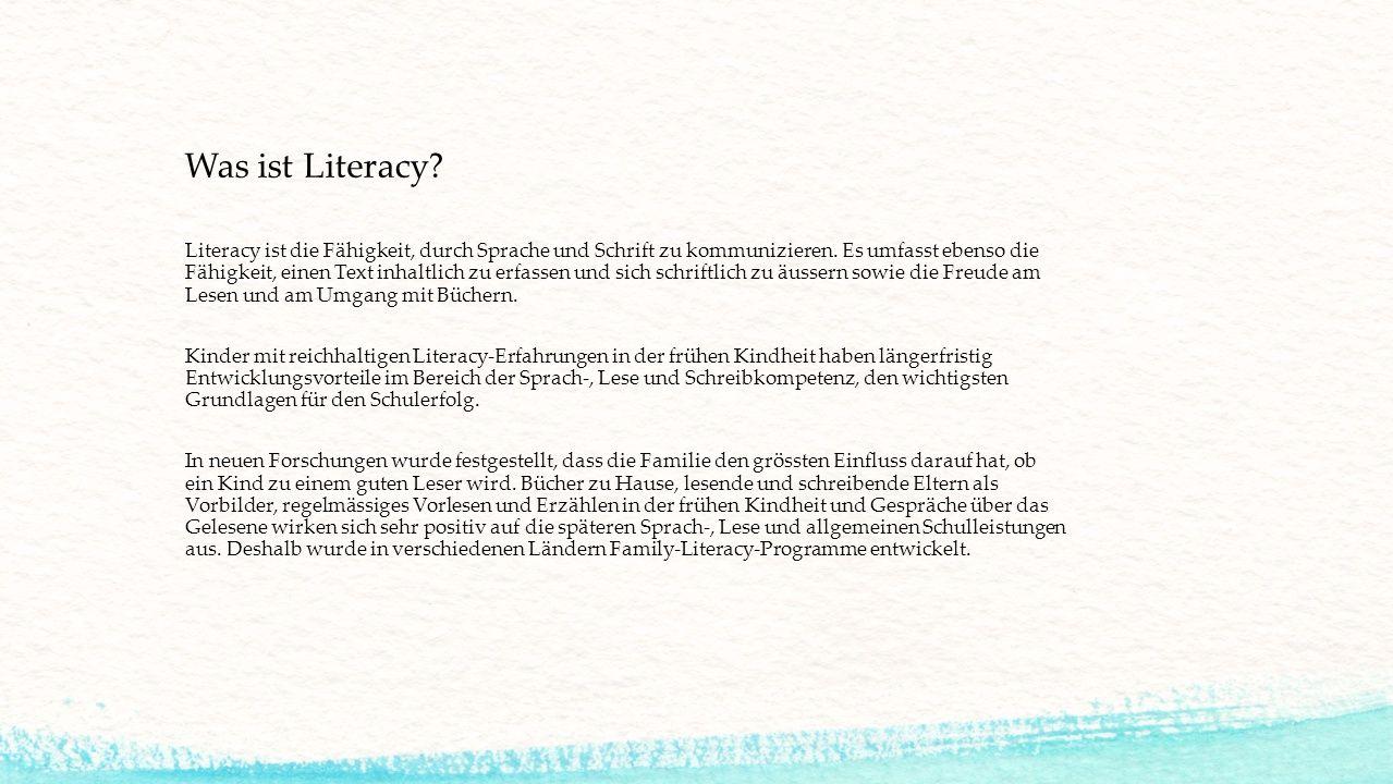 Was ist Literacy