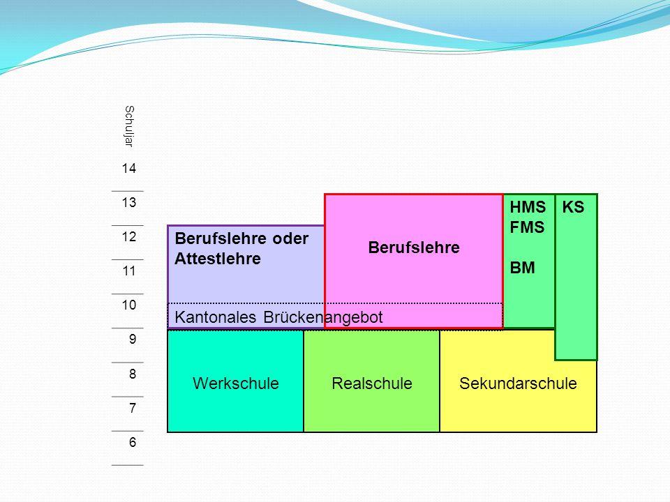 Kantonales Brückenangebot