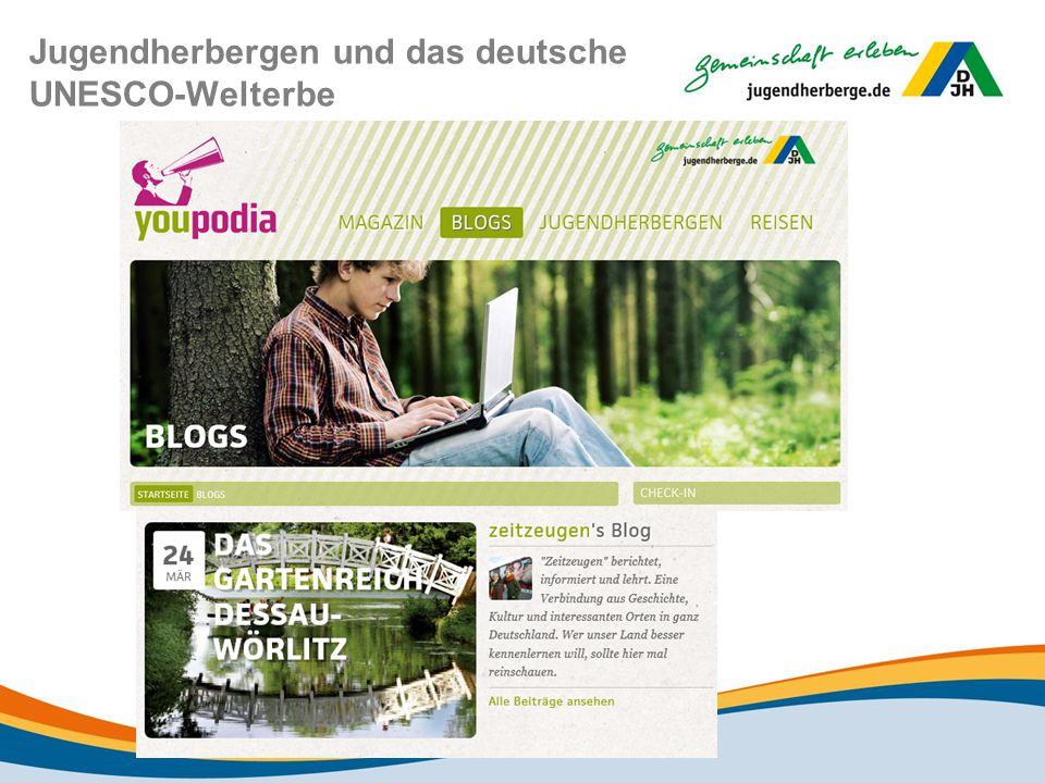 Jugendherbergen und das deutsche UNESCO-Welterbe