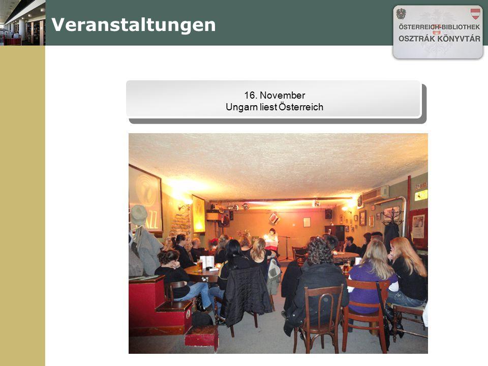 Ungarn liest Österreich