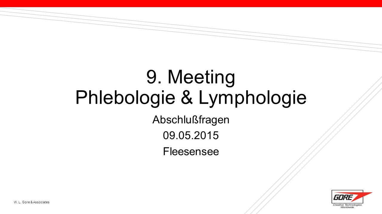 9. Meeting Phlebologie & Lymphologie