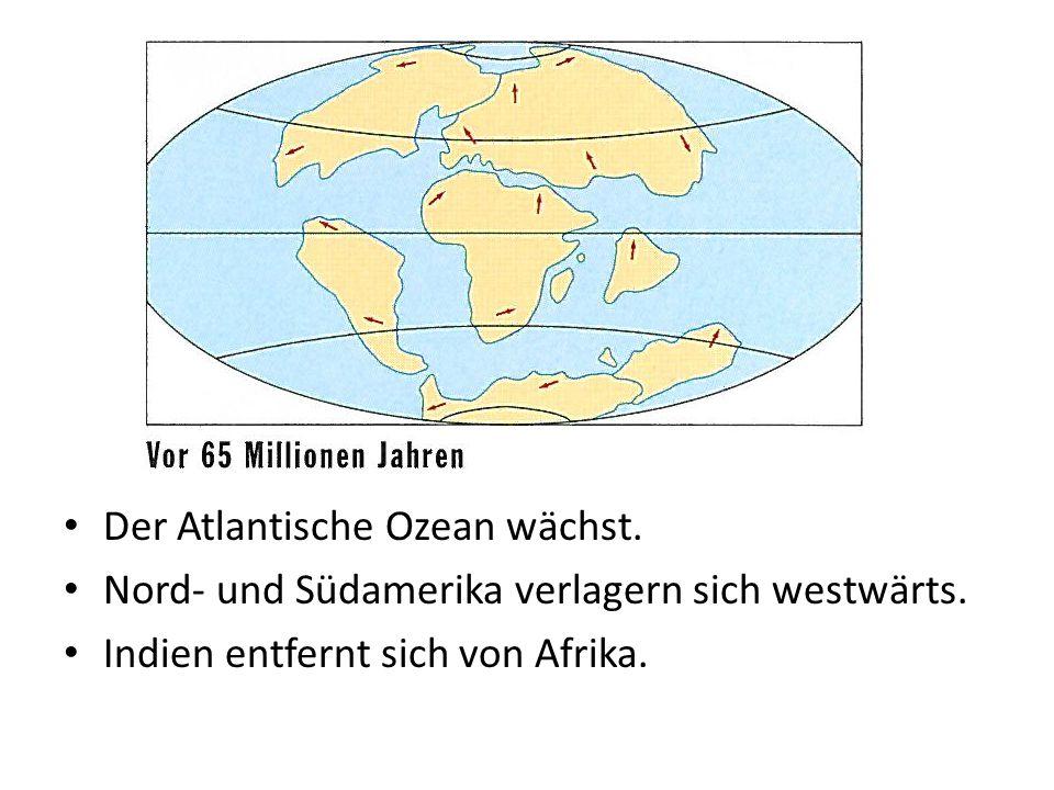 Der Atlantische Ozean wächst.