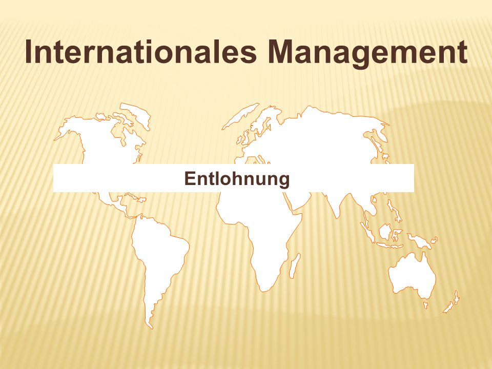 Internationales Management