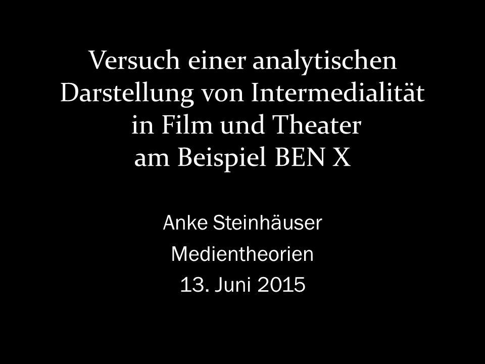 Anke Steinhäuser Medientheorien 13. Juni 2015