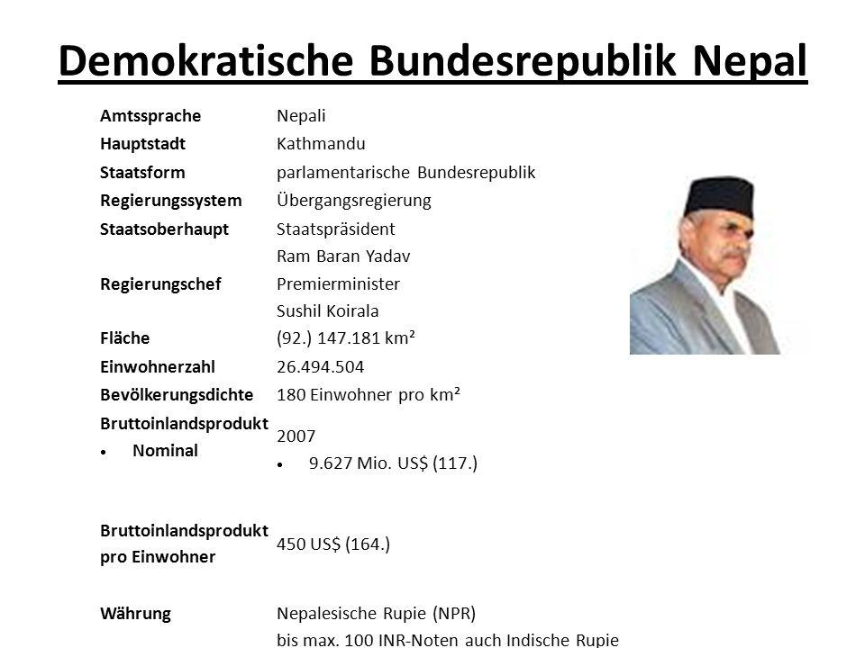 Demokratische Bundesrepublik Nepal