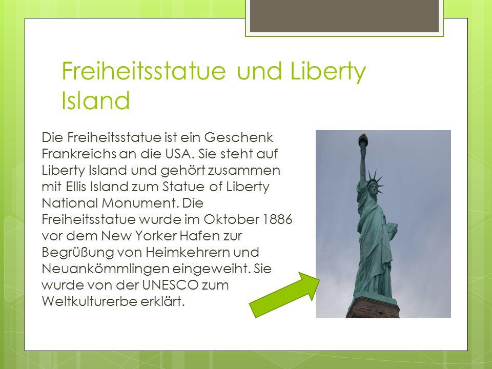 Freiheitsstatue und Liberty Island