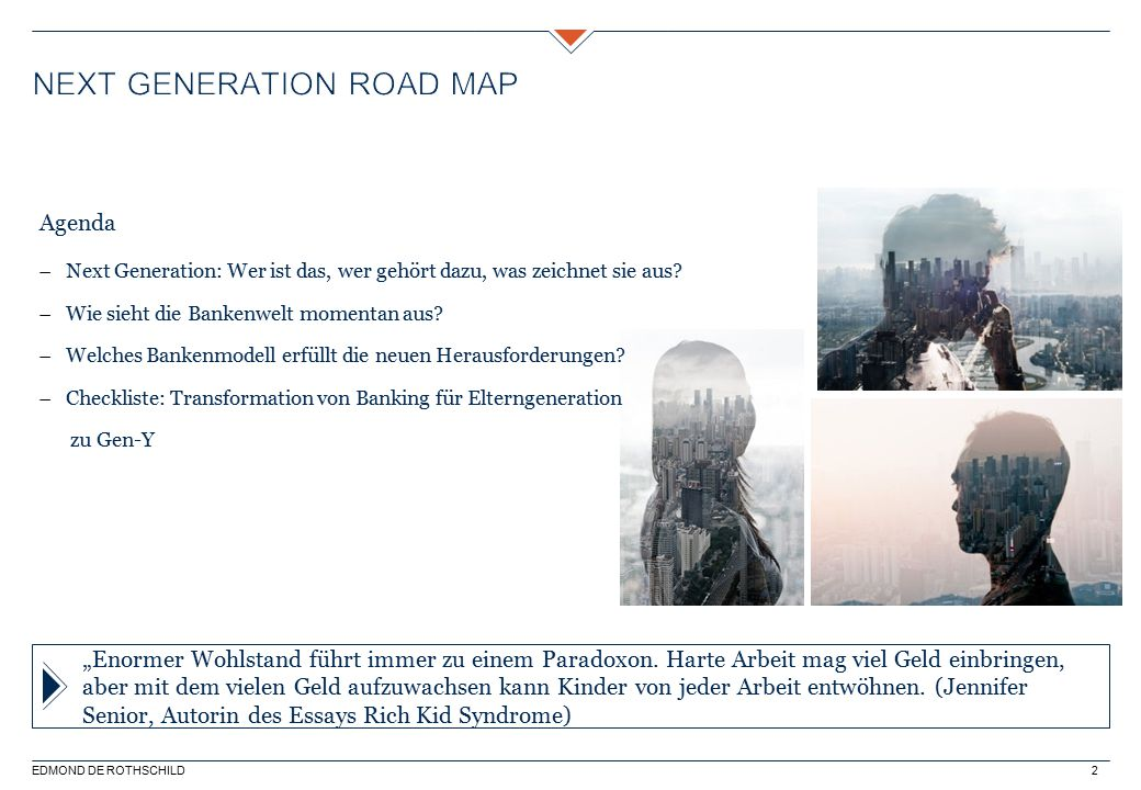 Next generation Road map