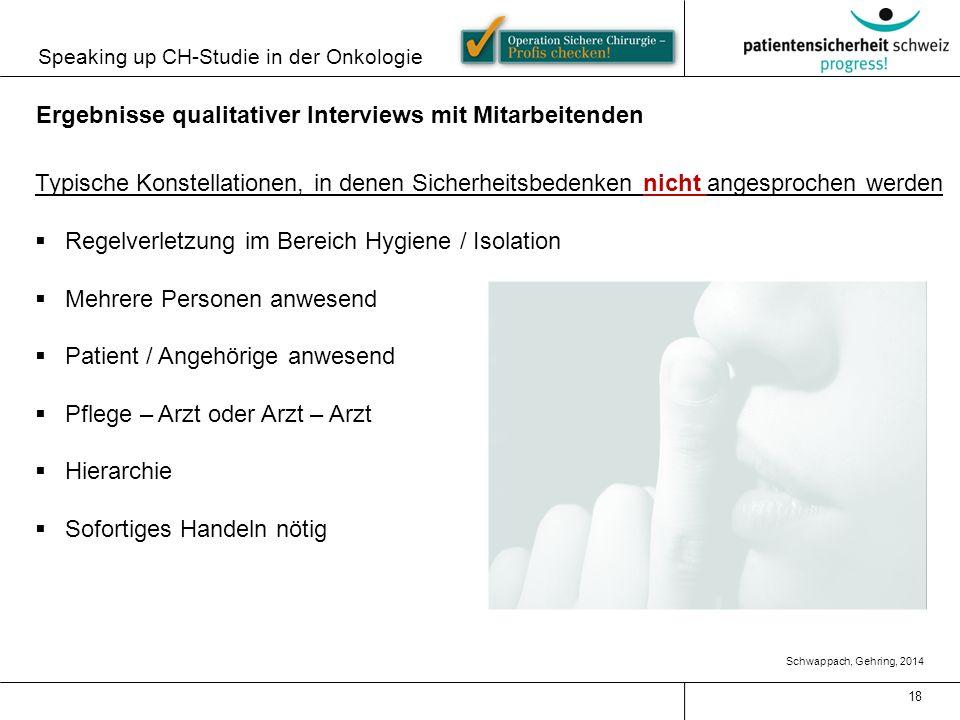 Ergebnisse qualitativer Interviews mit Mitarbeitenden