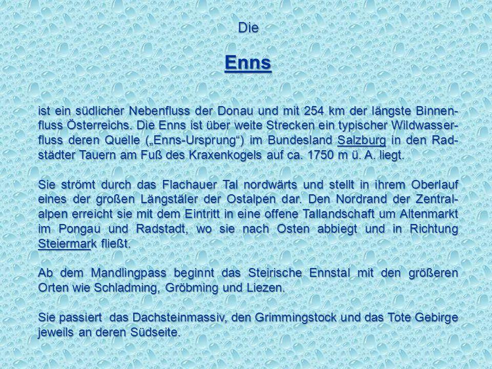 Die Enns.