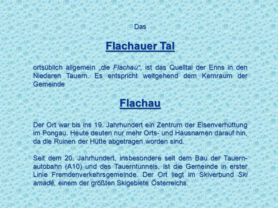 Flachauer Tal Flachau Das