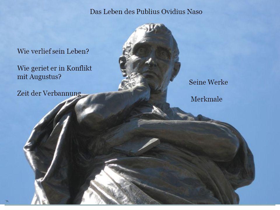 Das Leben des Publius Ovidius Naso