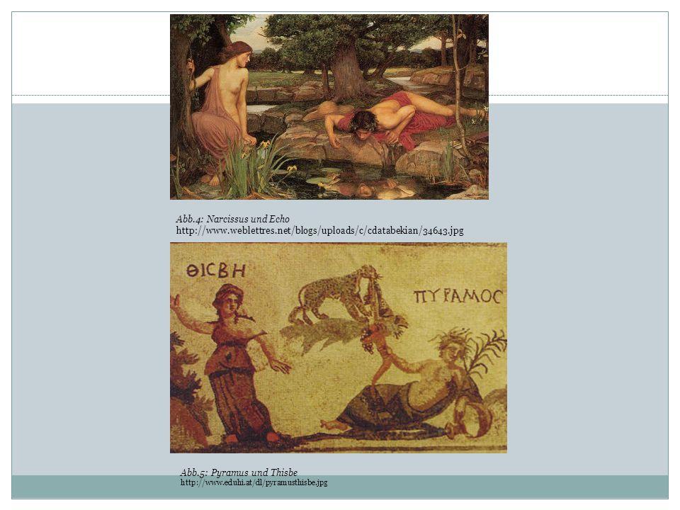 Abb.4: Narcissus und Echo