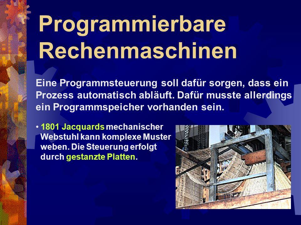Programmierbare Rechenmaschinen