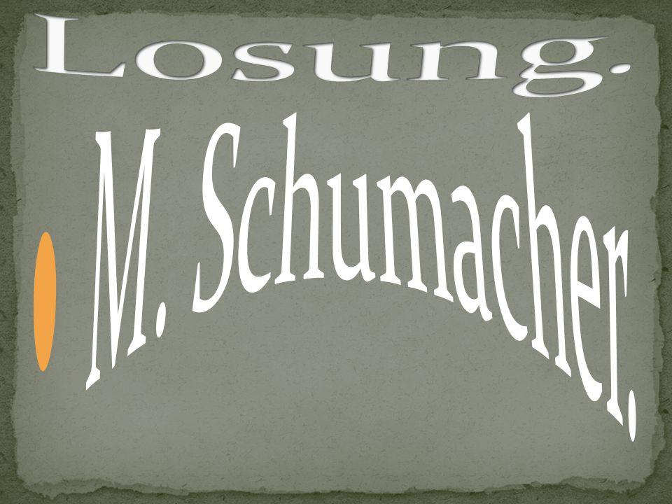 Losung. M. Schumacher.