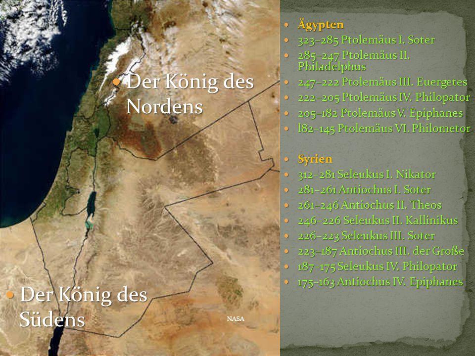 Der König des Nordens Der König des Südens Ägypten