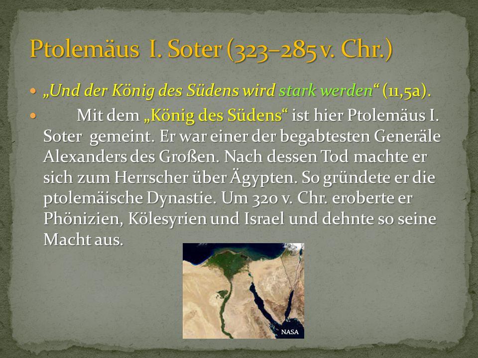 Ptolemäus I. Soter (323–285 v. Chr.)