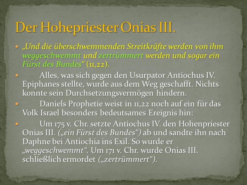 Der Hohepriester Onias III.