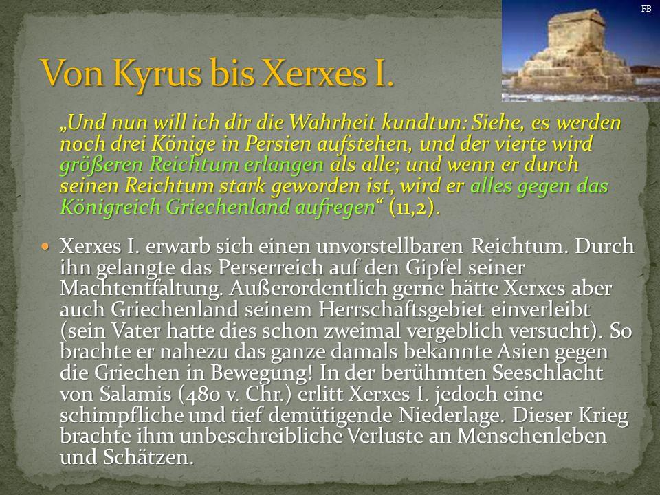 FB Von Kyrus bis Xerxes I.