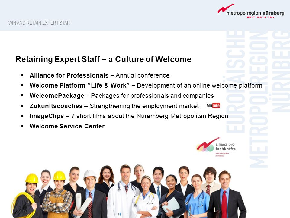 Retaining Expert Staff – a Culture of Welcome