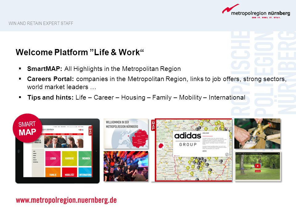 Welcome Platform Life & Work