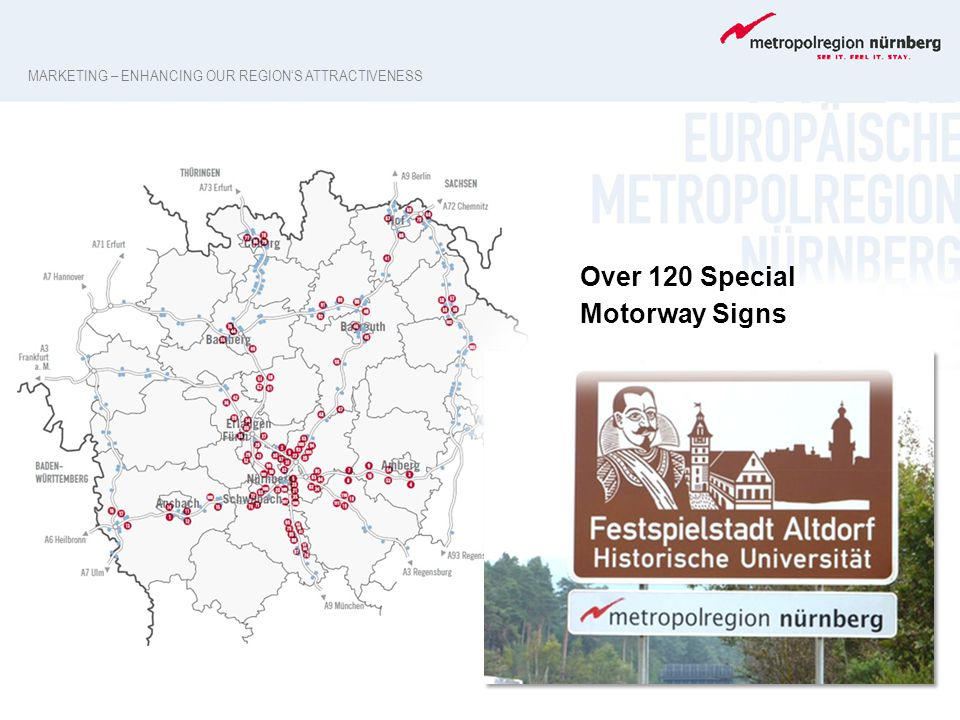 Over 120 Special Motorway Signs