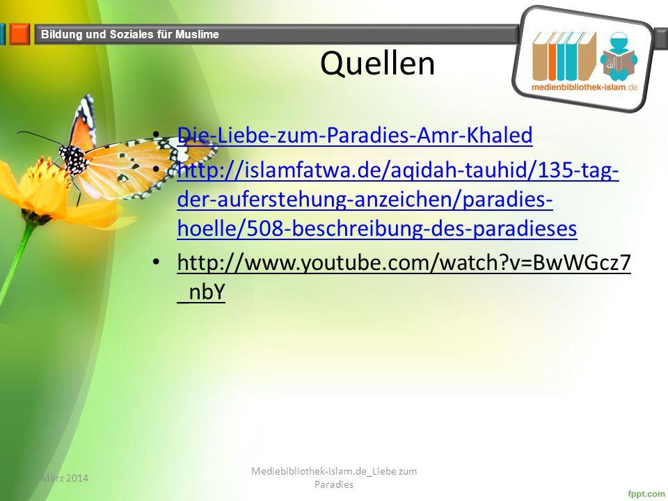 Mediebibliothek-islam.de_Liebe zum Paradies