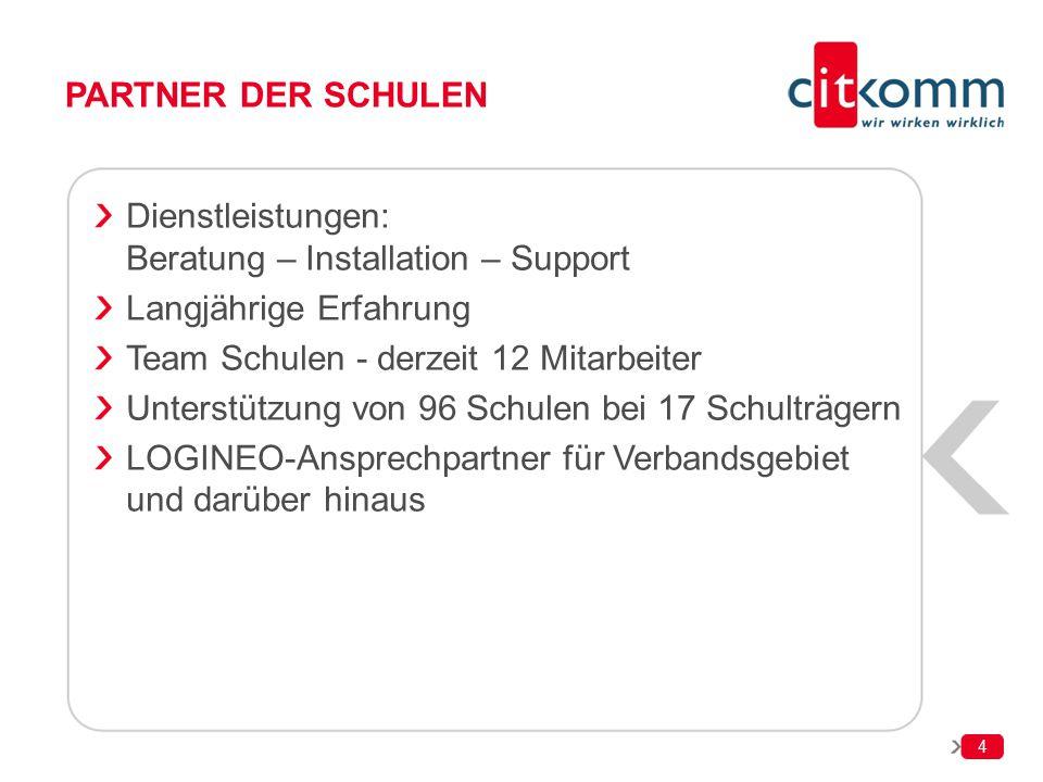Dienstleistungen: Beratung – Installation – Support