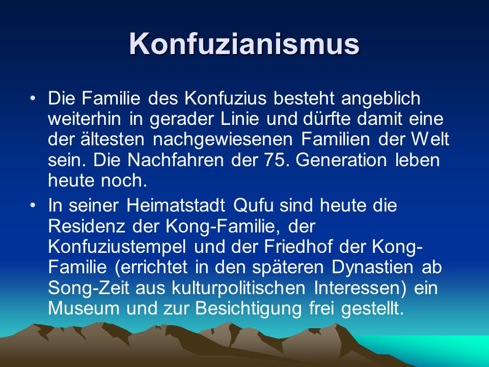Konfuzianismus