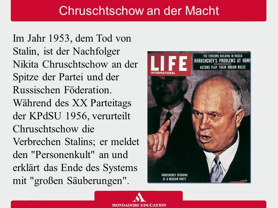 Chruschtschow an der Macht