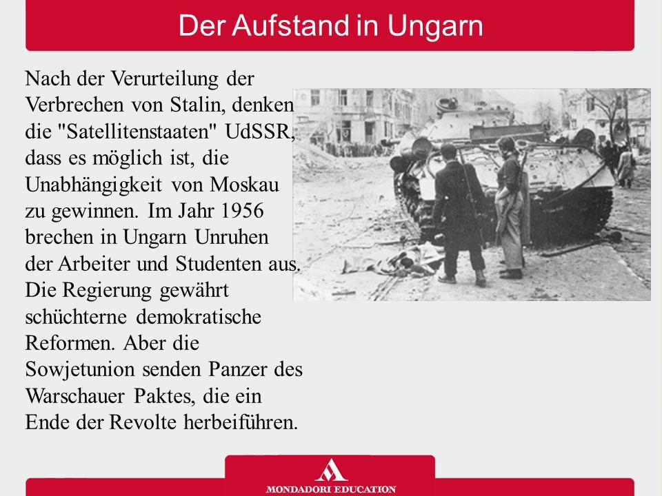 Der Aufstand in Ungarn