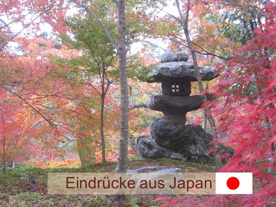 Eindrücke aus Japan