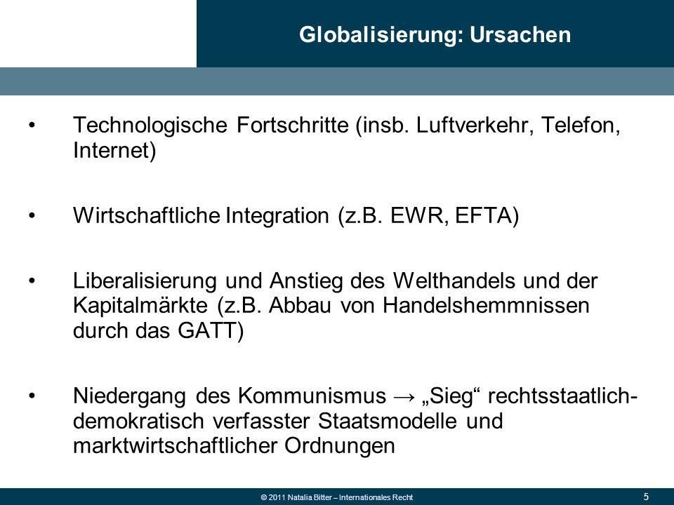 Globalisierung: Ursachen