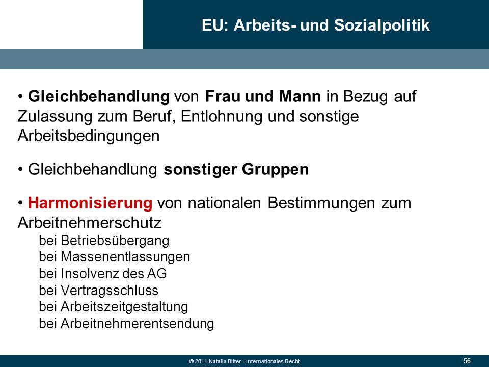 EU: Arbeits- und Sozialpolitik
