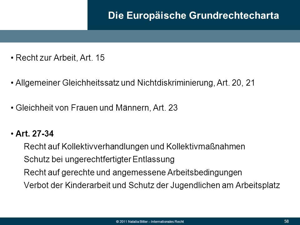 Die Europäische Grundrechtecharta