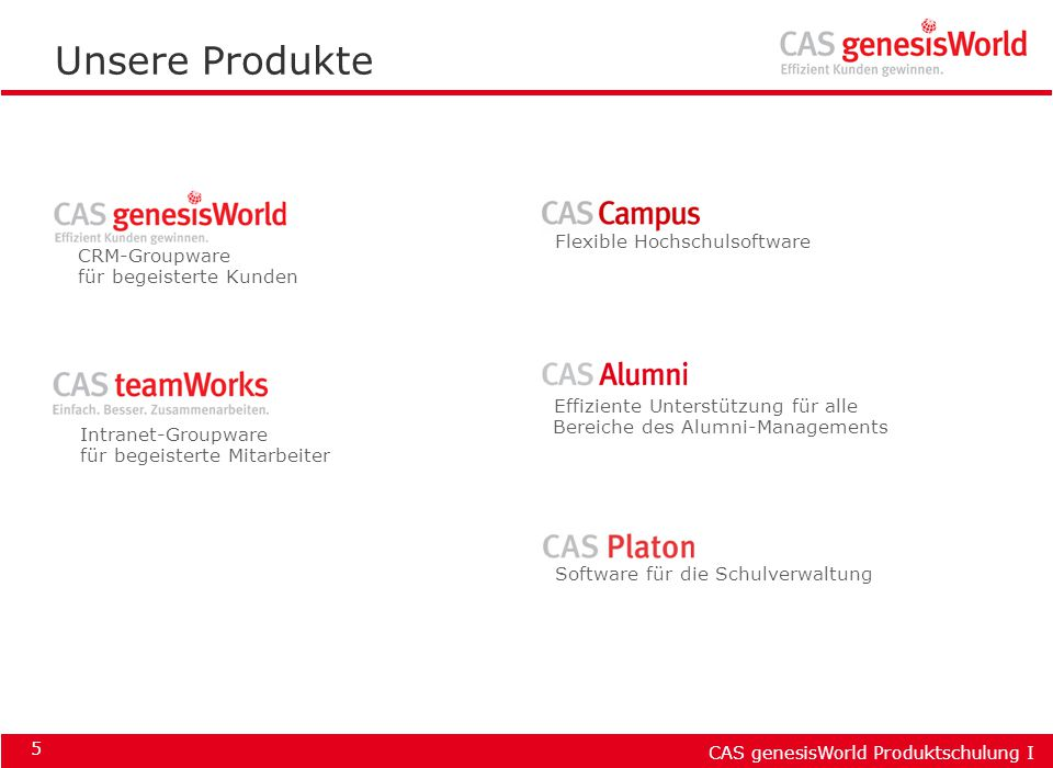 Unsere Produkte Flexible Hochschulsoftware