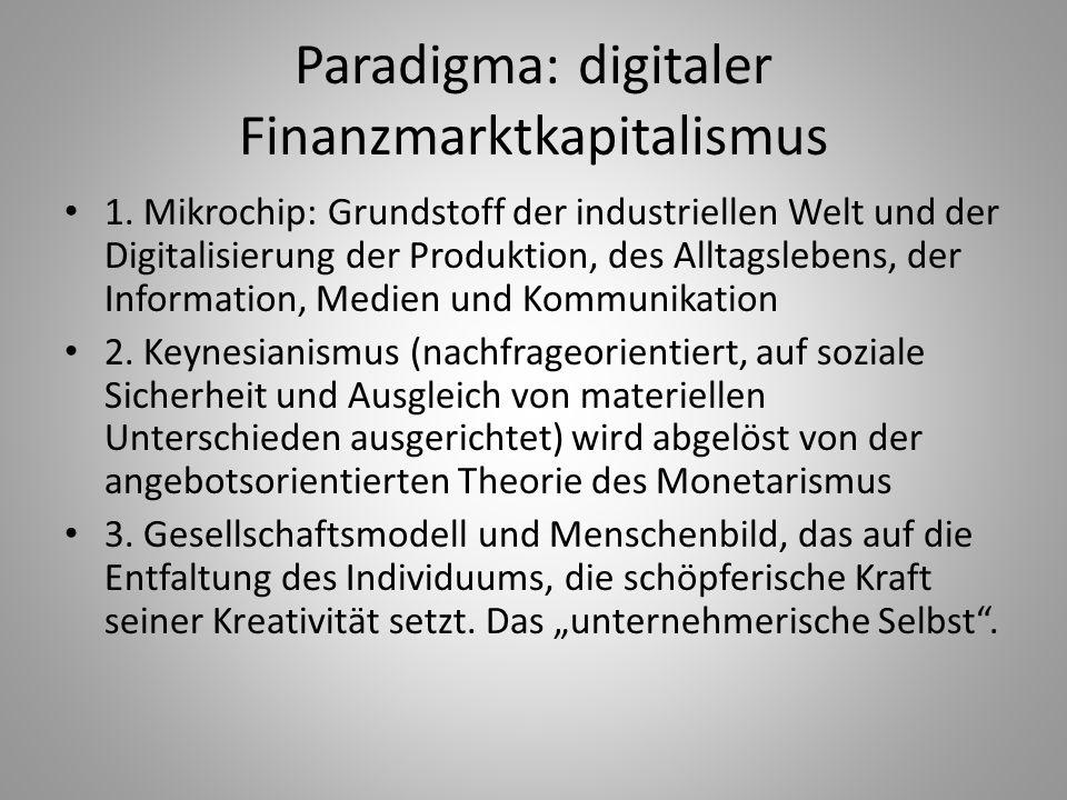 Paradigma: digitaler Finanzmarktkapitalismus